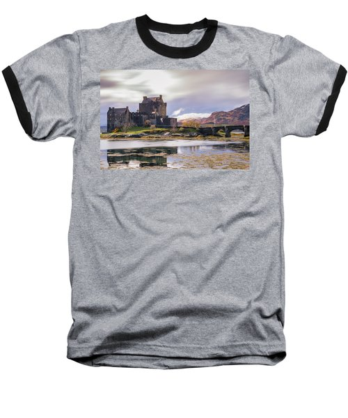 Eilean Donan Castle, Dornie, Kyle Of Lochalsh, Isle Of Skye, Scotland, Uk Baseball T-Shirt