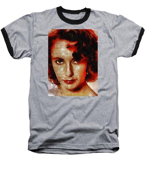Elizabeth Taylor Baseball T-Shirt