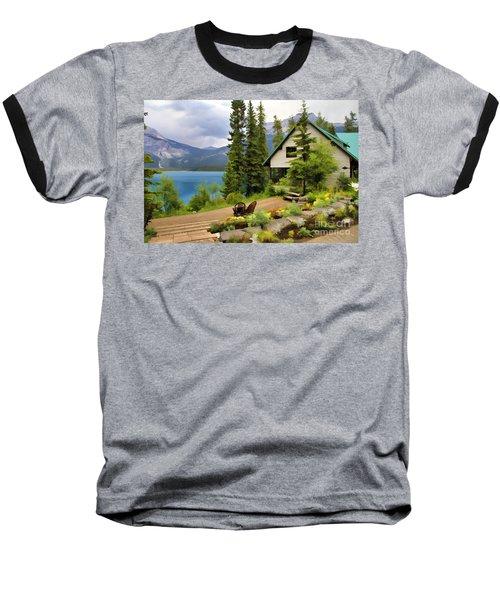 Emerald Lake Yoho National Park Baseball T-Shirt
