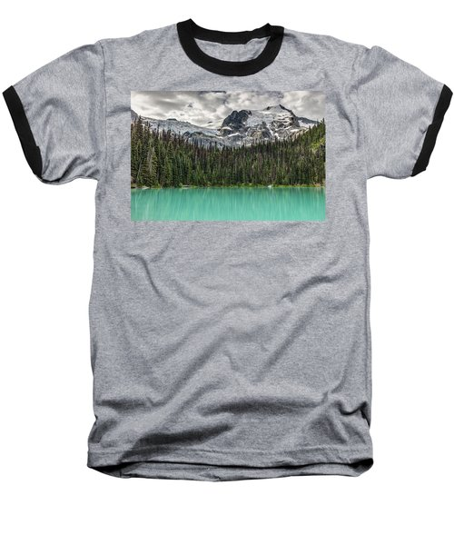 Emerald Reflection Baseball T-Shirt by Pierre Leclerc Photography