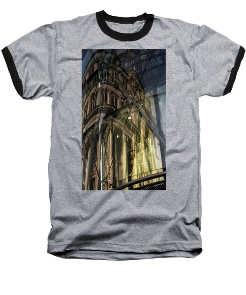 Baseball T-Shirt featuring the photograph Emergence by Alex Lapidus