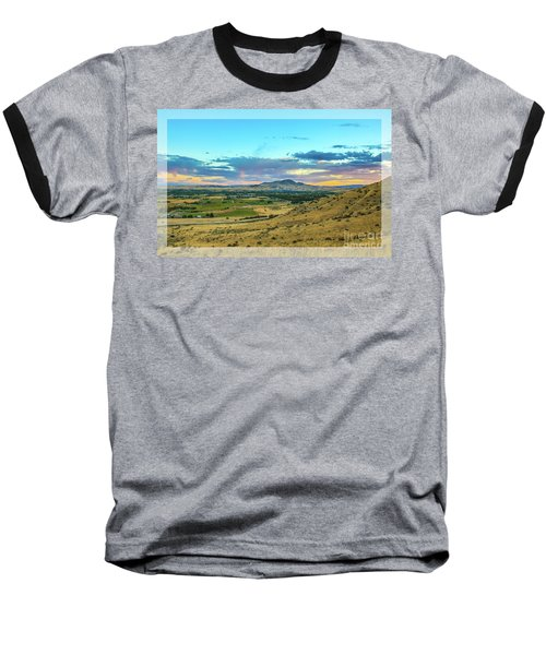 Baseball T-Shirt featuring the photograph Emmett Valley by Robert Bales