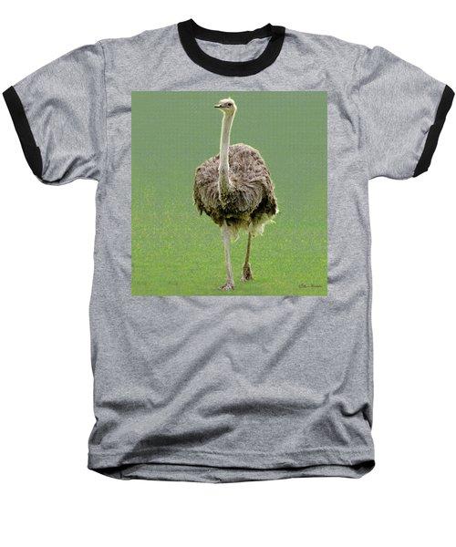 Emu Baseball T-Shirt by Ellen Henneke