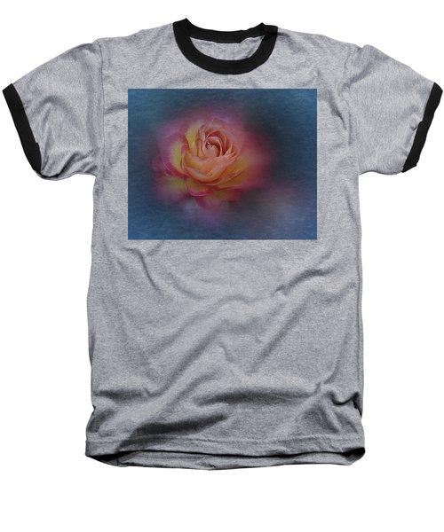 End Of September 2016 Rose Baseball T-Shirt by Richard Cummings