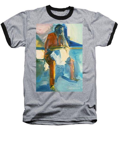 Ernie Baseball T-Shirt by Daun Soden-Greene