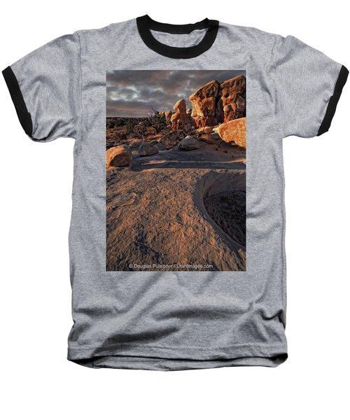 Escalante Desert Sunset Baseball T-Shirt