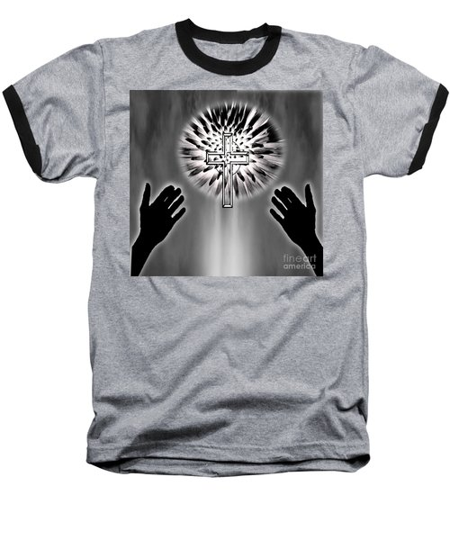 Eternity Baseball T-Shirt by Belinda Threeths