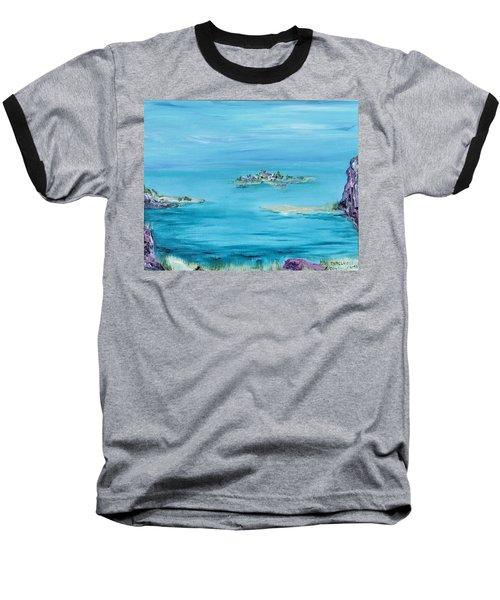 Ethereal Baseball T-Shirt by Regina Valluzzi