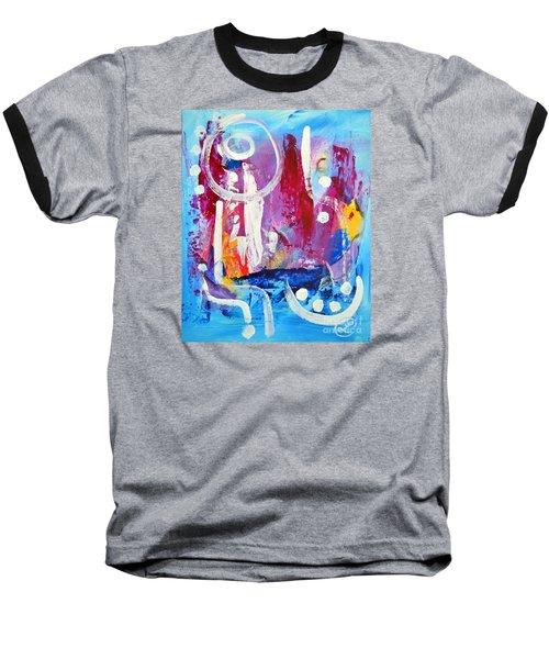 Euphoria Baseball T-Shirt by Lynda Cookson