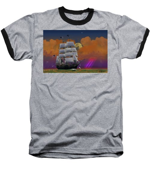 Evening Return For The Elissa Baseball T-Shirt by J Griff Griffin