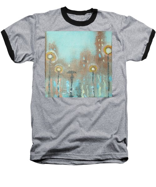 Baseball T-Shirt featuring the painting Evening Stroll by Raymond Doward