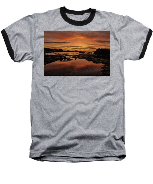 Evenings End Baseball T-Shirt by Roy McPeak