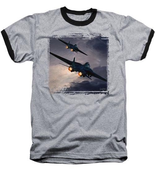 F-14 Flying Iron Baseball T-Shirt