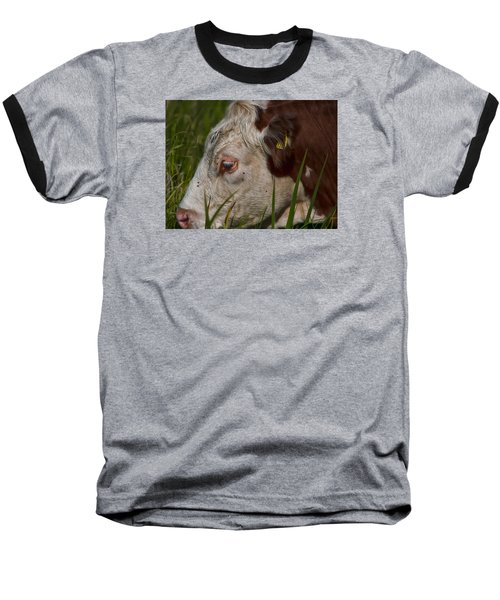 Baseball T-Shirt featuring the photograph Face by Leif Sohlman