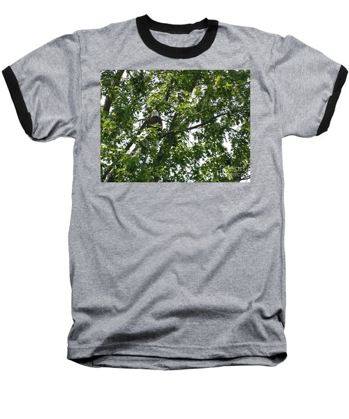 Face The Eagle Baseball T-Shirt