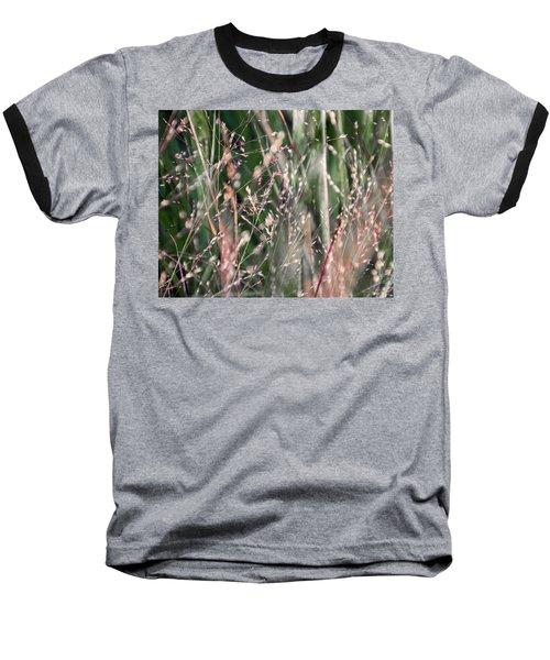 Fairies In The Grass - Baseball T-Shirt
