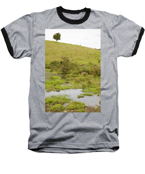 Baseball T-Shirt featuring the photograph Fairy Tree In Ireland by Ian Middleton