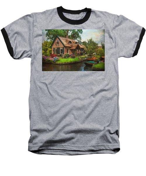 Fairytale House. Giethoorn. Venice Of The North Baseball T-Shirt