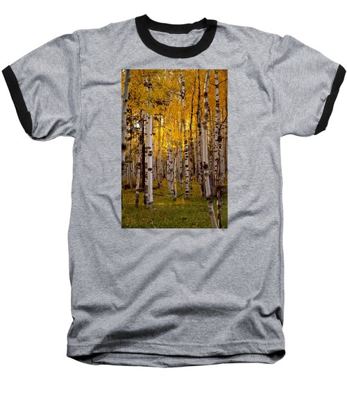 Fall At Snowbowl Baseball T-Shirt