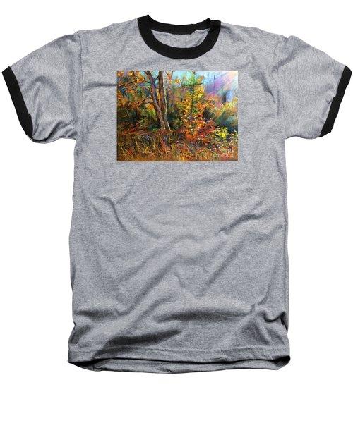 Fall  Baseball T-Shirt by Jieming Wang