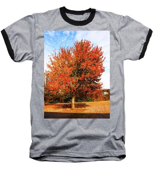 Fall Time Baseball T-Shirt