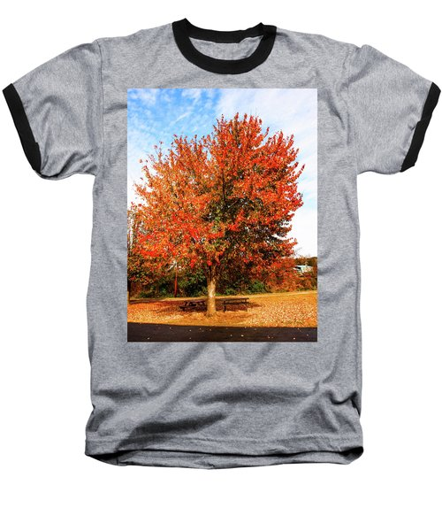 Fall Time Baseball T-Shirt
