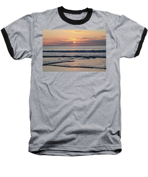 Fanore Sunset 2 Baseball T-Shirt