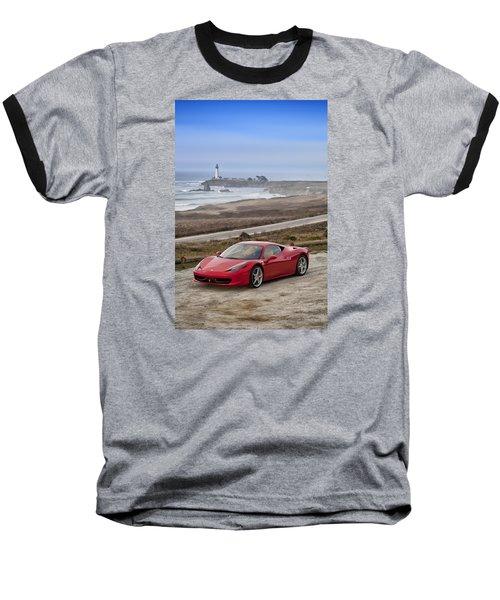 Ferrari 458 Italia Baseball T-Shirt
