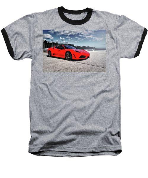 Baseball T-Shirt featuring the photograph Ferrari F430 by Joel Witmeyer