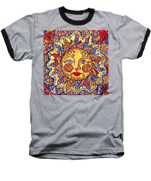Fiesta Sun Baseball T-Shirt