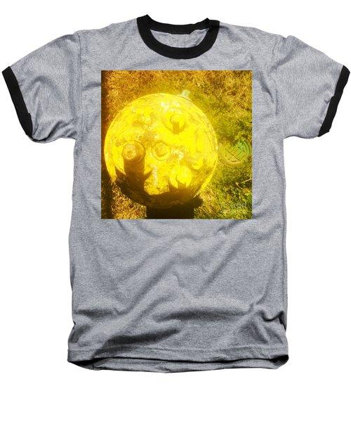 Fire Hydrant #4 Baseball T-Shirt by Suzanne Lorenz