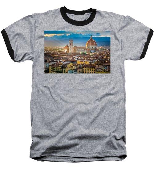 Firenze Duomo Baseball T-Shirt