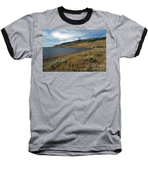 Fish Lake Ut Baseball T-Shirt by Cindy Murphy - NightVisions