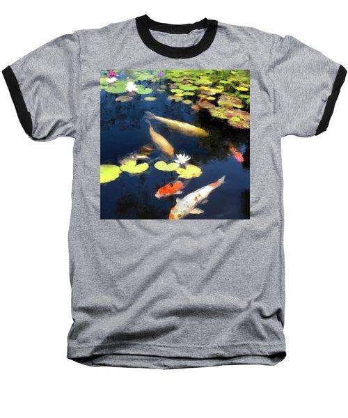 Fish Pond Baseball T-Shirt