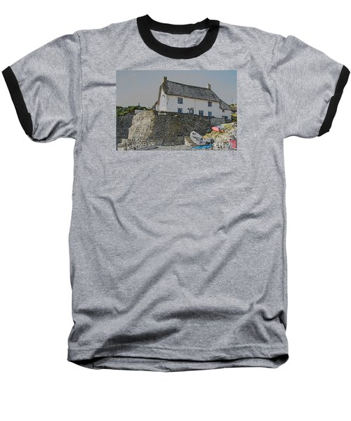 Fishermans Cottage Baseball T-Shirt