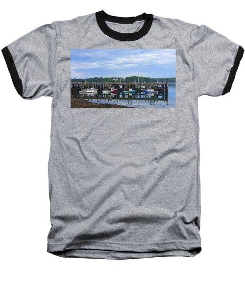 Fishing Boats - Beaver Harbour Baseball T-Shirt