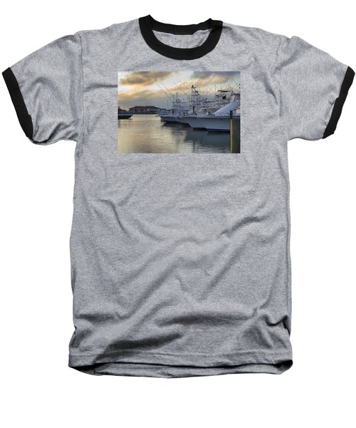 Fishing Yachts Baseball T-Shirt