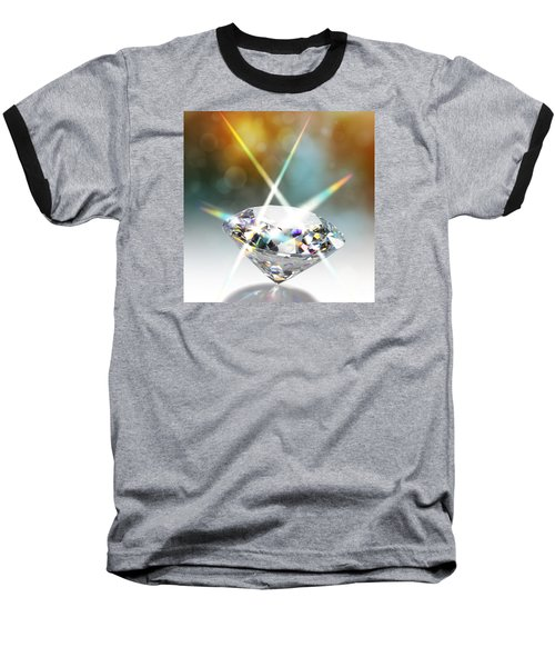 Flashing Diamond Baseball T-Shirt by Atiketta Sangasaeng
