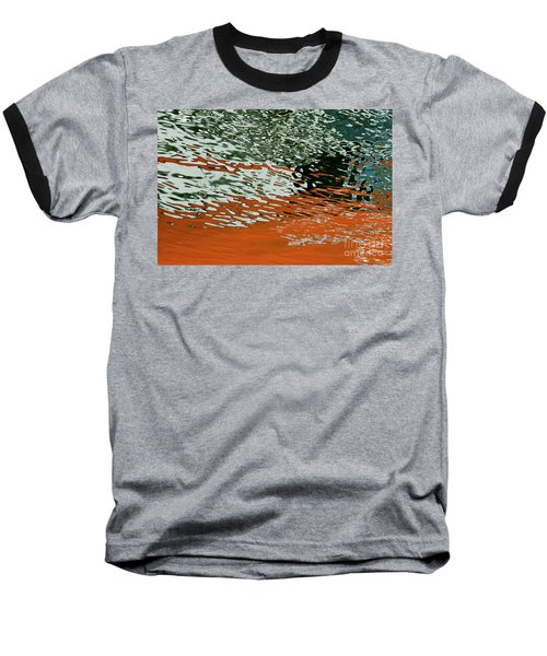 Baseball T-Shirt featuring the photograph Floating On Blue 43 by Wendy Wilton