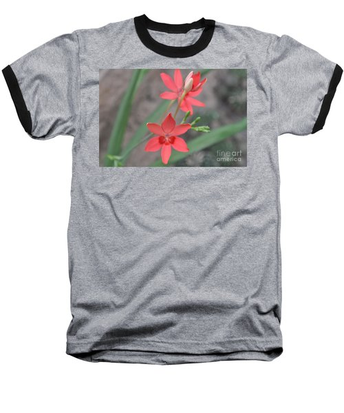 Floating Orchid Baseball T-Shirt