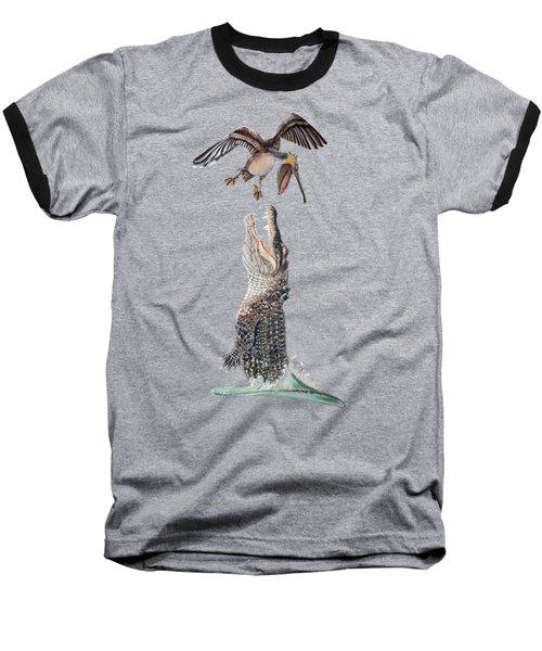 Florida Gator Baseball T-Shirt by Jennifer Rogers