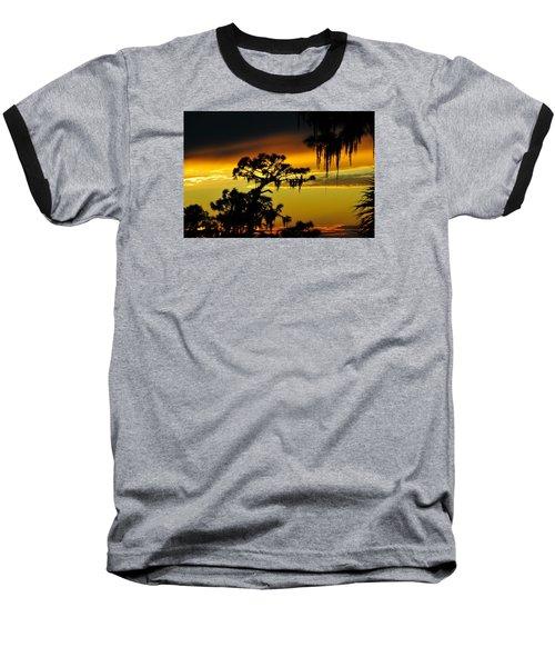 Central Florida Sunset Baseball T-Shirt by David Lee Thompson