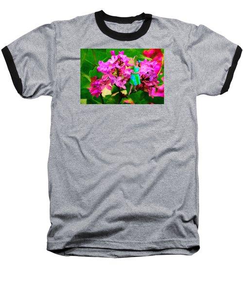 Flower Fairy  Baseball T-Shirt by Andre Faubert