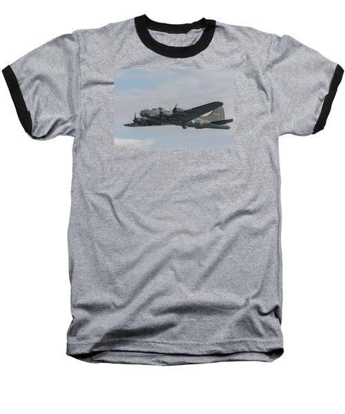 Flying Fortress Sally B Baseball T-Shirt by Gary Eason
