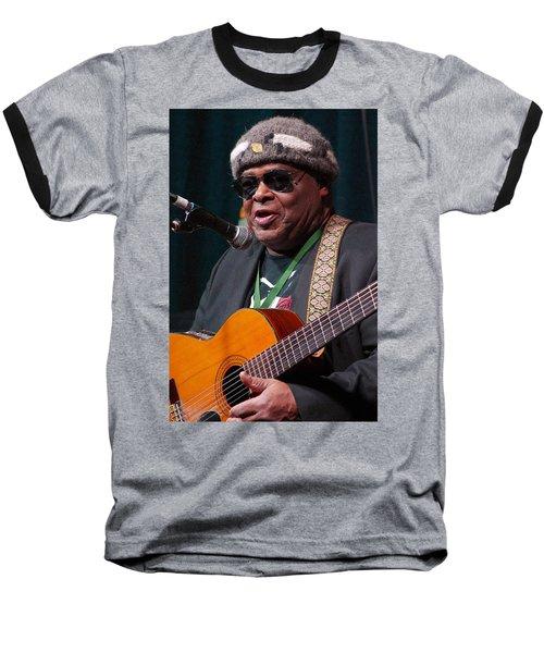 Baseball T-Shirt featuring the digital art Folk Alliance 2014 by Jim Mathis