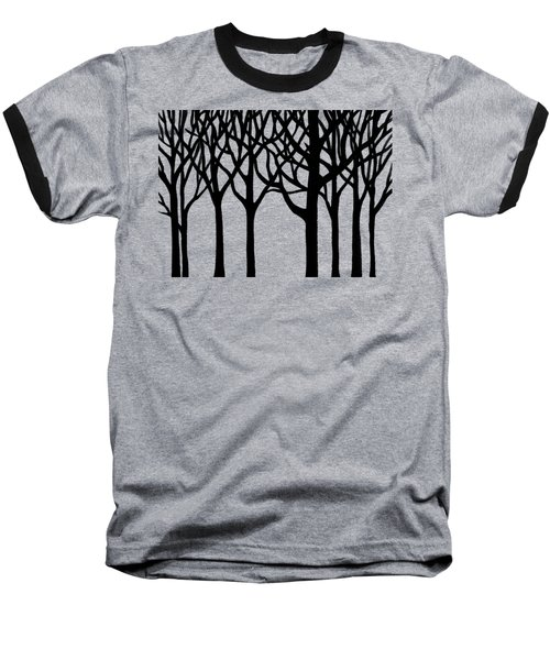 Forest Baseball T-Shirt by Irina Sztukowski