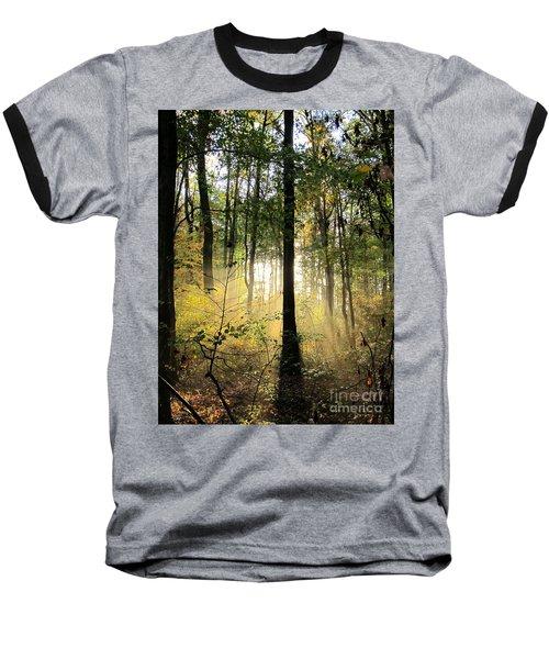 Forest Light  Baseball T-Shirt