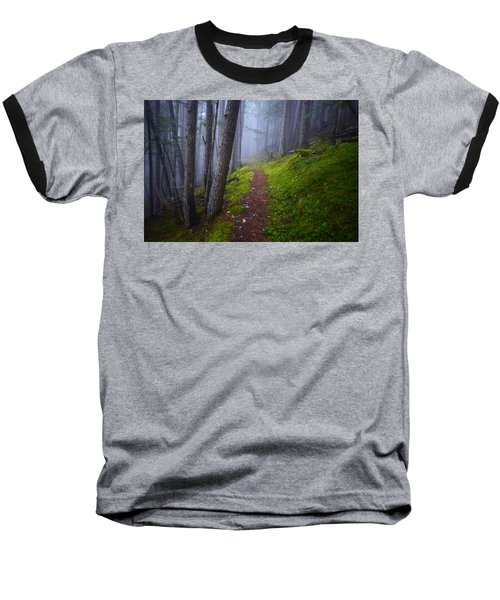 Baseball T-Shirt featuring the photograph Forest Mysteries by Tara Turner