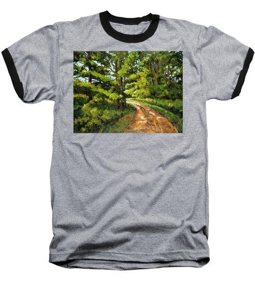 Forest Pathway Baseball T-Shirt