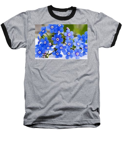 Forget-me-not Baseball T-Shirt